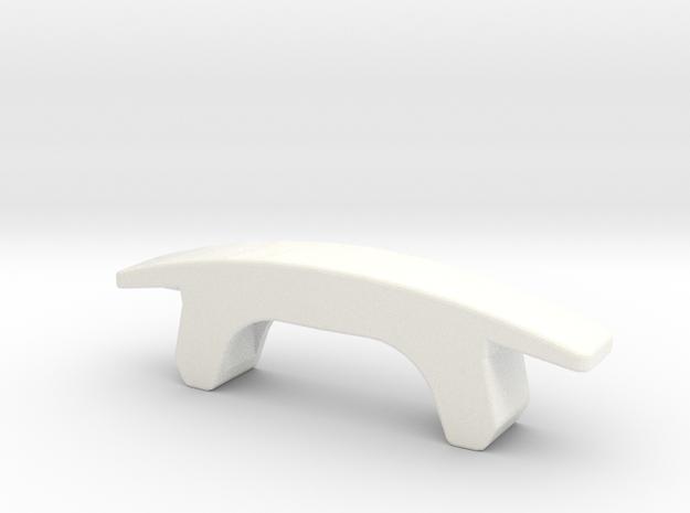 CBX CALIPER INDICATOR in White Processed Versatile Plastic