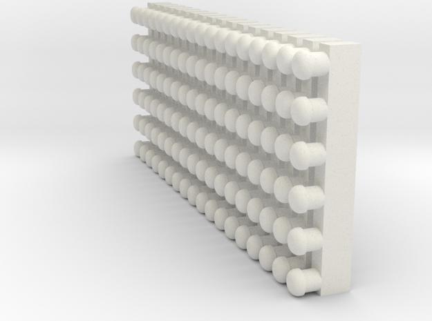 Yoyoroundturbines528oscale in White Natural Versatile Plastic