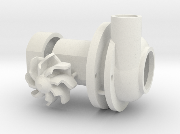 Turbo Spool - Set Elc plastic in White Natural Versatile Plastic