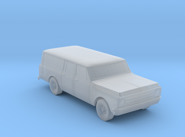 1969 - 1971 Chevy Suburban HO scale in Smooth Fine Detail Plastic