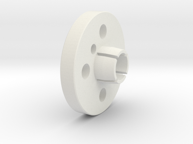 FF-8-003 - Locking Device in White Strong & Flexible