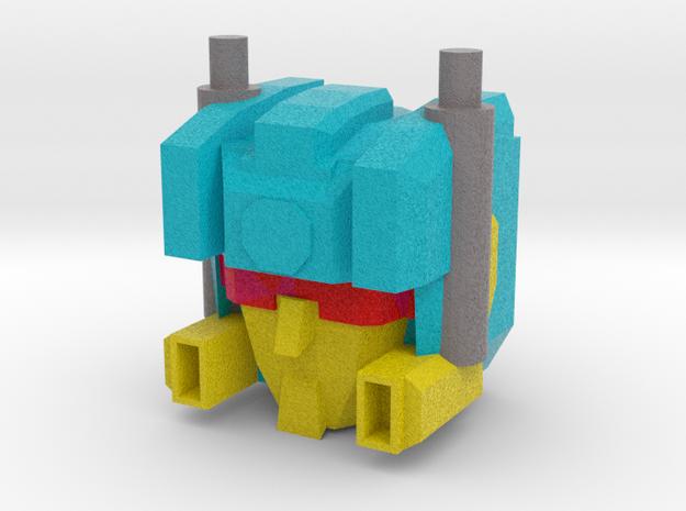Customatron - Carformer Erebus Head  in Full Color Sandstone