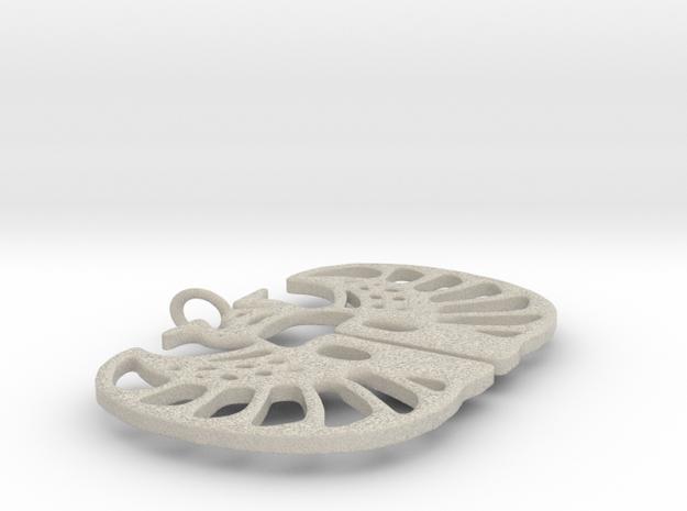 Mayan Pendant 3d printed