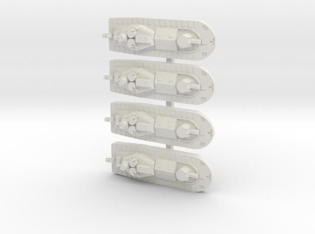 1/600 Vietnam CCB x 4 off in White Natural Versatile Plastic