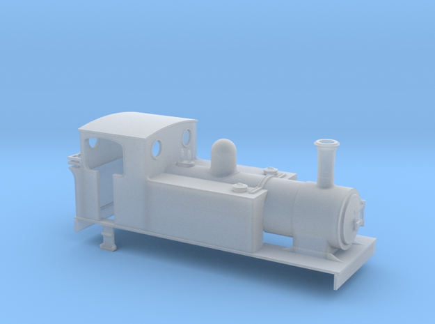 TTn3 LLSR Barclay 4-6-0T  in Smooth Fine Detail Plastic