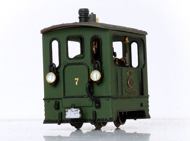 1:87 Tramway Loco no.7 Backer & Rueb