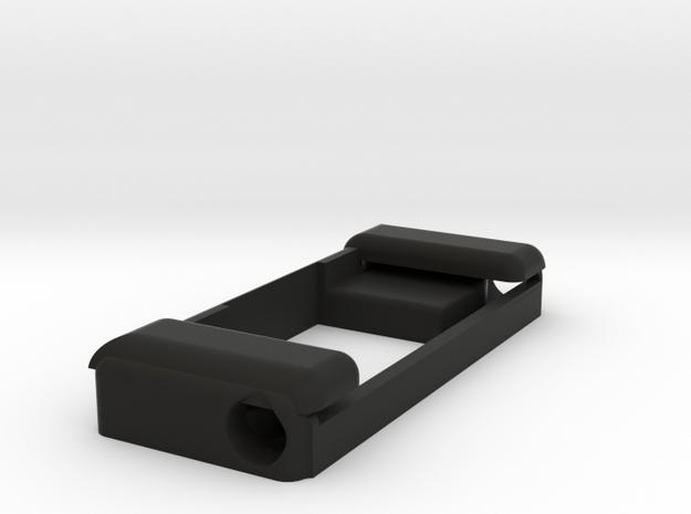 Strobon Mount for metal Frame multirotors. in Black Natural Versatile Plastic