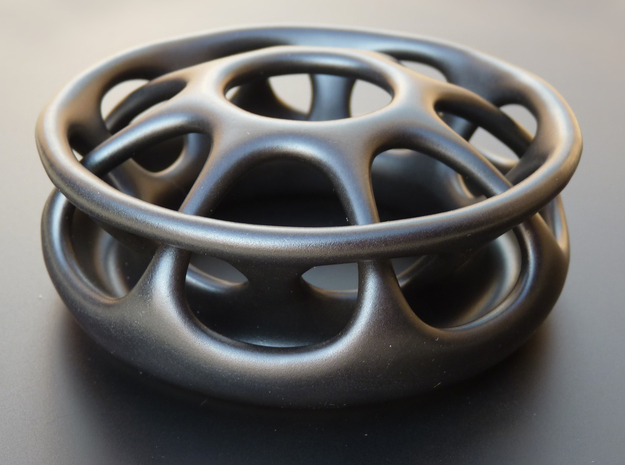 Aromaph 3d printed Printed in Satin Black Ceramics