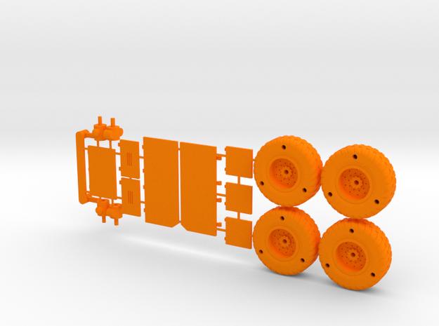 Guy Lizard Model - Parts 3d printed