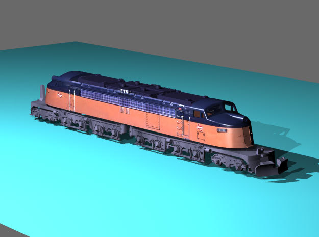 NScale EF4 Little Joe E78 (Rebuilt) Milwaukee