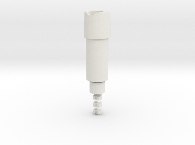 KJW KC-02 AEG and VSR Compatible Hop Up Chamber in White Natural Versatile Plastic