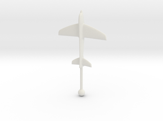 Windthos 60mm in White Natural Versatile Plastic