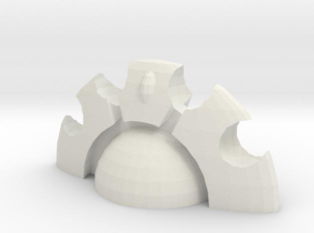 Aegis-full v2 in White Strong & Flexible