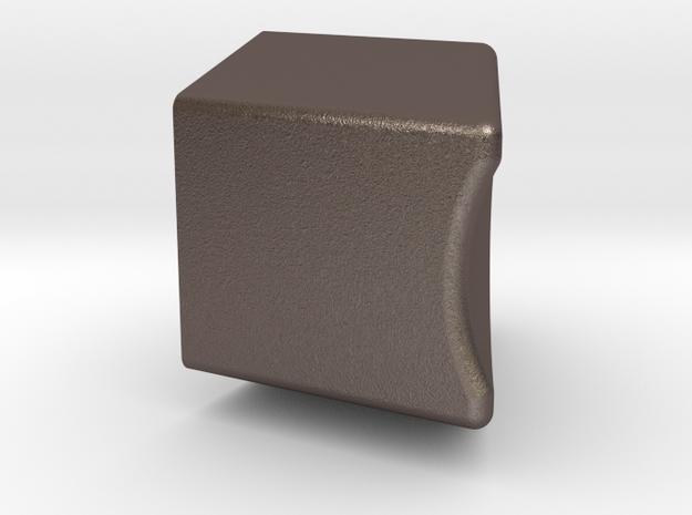 BWE-011081 in Polished Bronzed Silver Steel