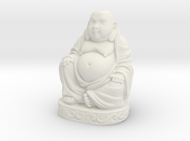Buddha Statue - Antiques in White Natural Versatile Plastic