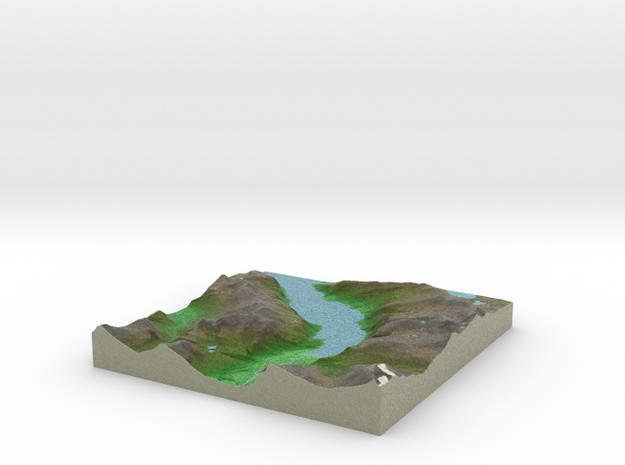 Terrafab generated model Fri Jun 12 2015 16:42:24  in Full Color Sandstone