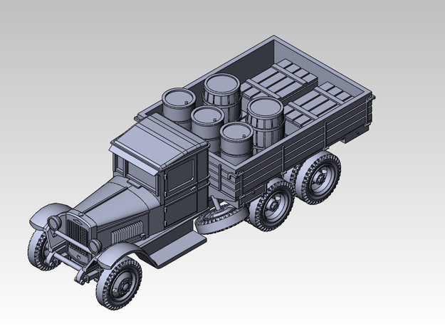 1/144 ZIS-6 Track in Smooth Fine Detail Plastic