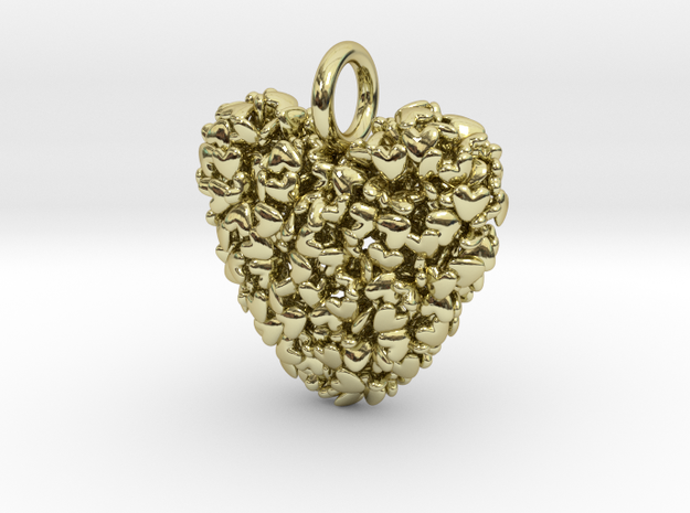 365 Hearts Pendant - Medium