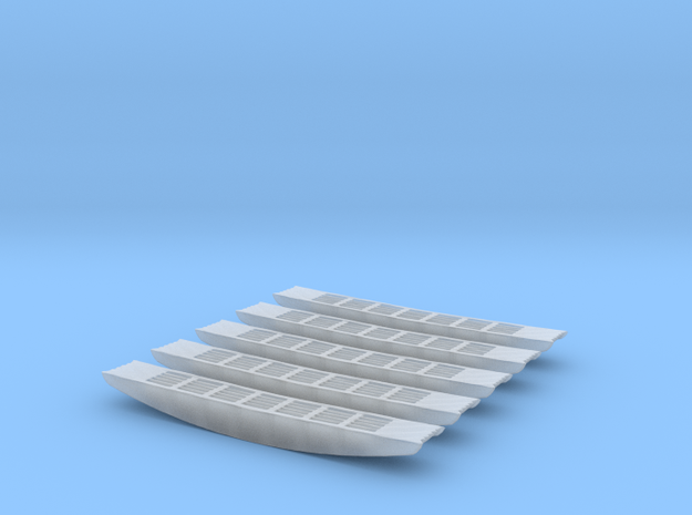 Lüftungsgitter Setra S 215 HD 5Stück in Frosted Ultra Detail