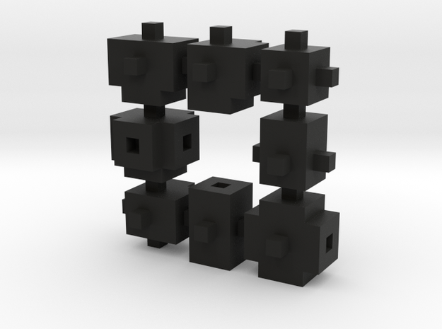 Buildblocks Variant 2v2 in Black Strong & Flexible