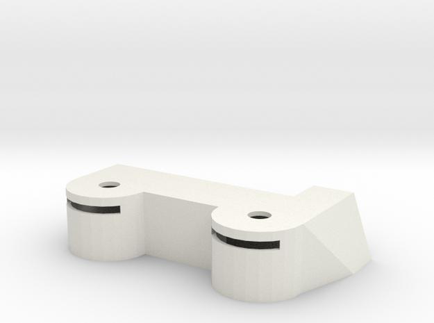 Bunker #4 in White Natural Versatile Plastic