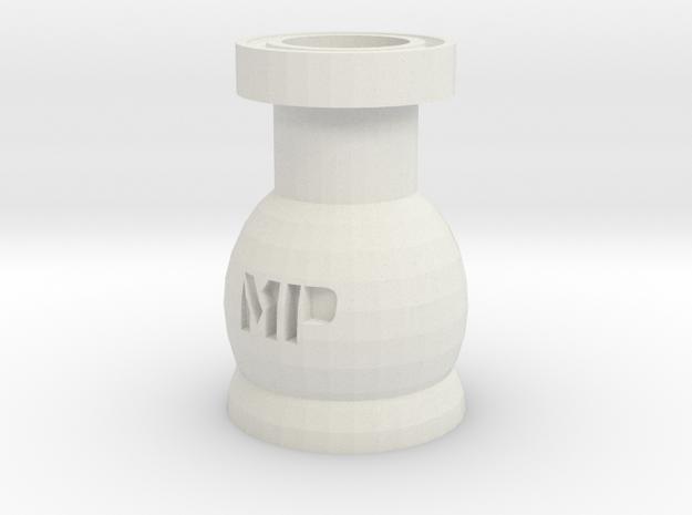 Mana Potion Bottle in White Natural Versatile Plastic