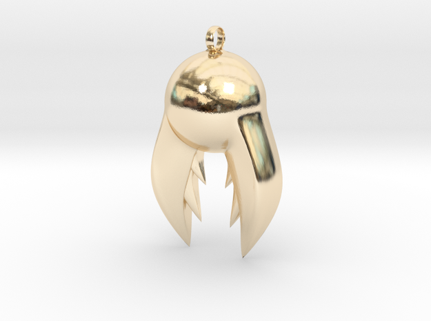 Zire Pendant in 14k Gold Plated Brass