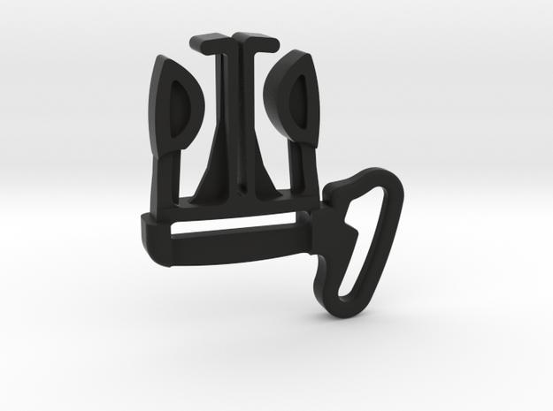 Belt Clip for Frog, Cameleon Gen 1 & 2 in Black Strong & Flexible