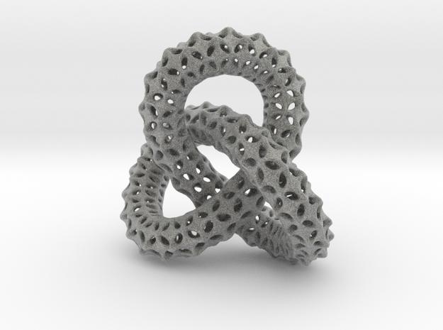 vertebral trefoil pendant in Metallic Plastic