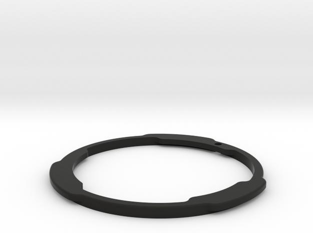 Minolta MD to EOS EF Flange in Black Natural Versatile Plastic