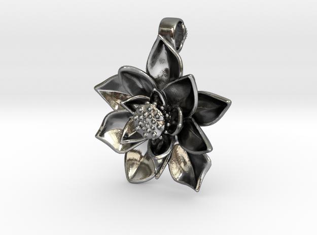 Sacred Lotus Pendant - 3 cm