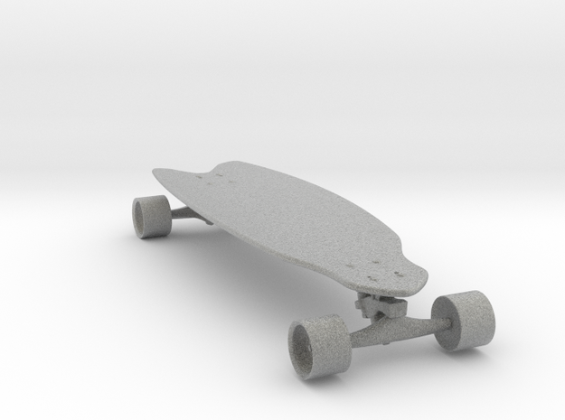skateboard shooter  in Metallic Plastic