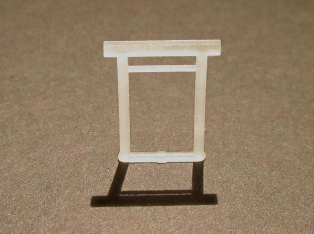 Torii, Ise-Shinmei small 5x, N-gauge in Smooth Fine Detail Plastic