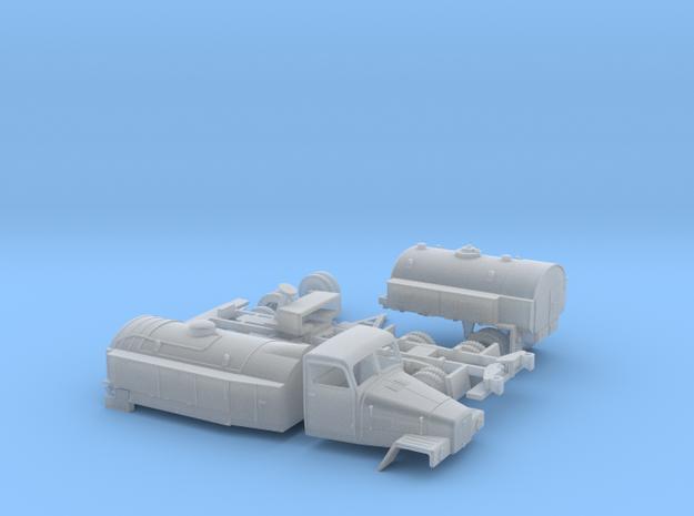 LKW IFA G5 Tankzug (zivi Var.) N 1:160 3d printed