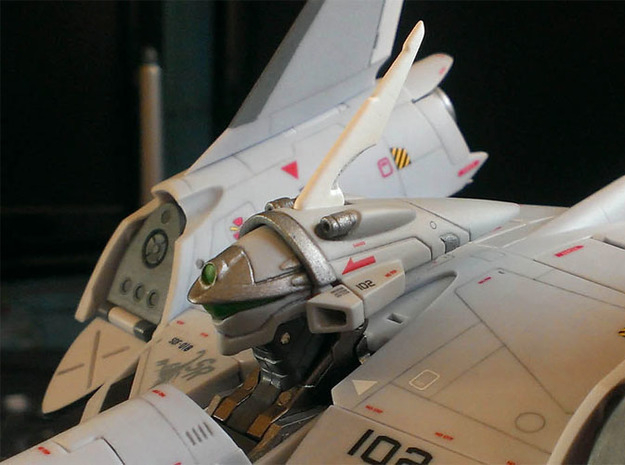 VF-4C/G/K Custom Head Unit 3d printed Painted + decals applied.