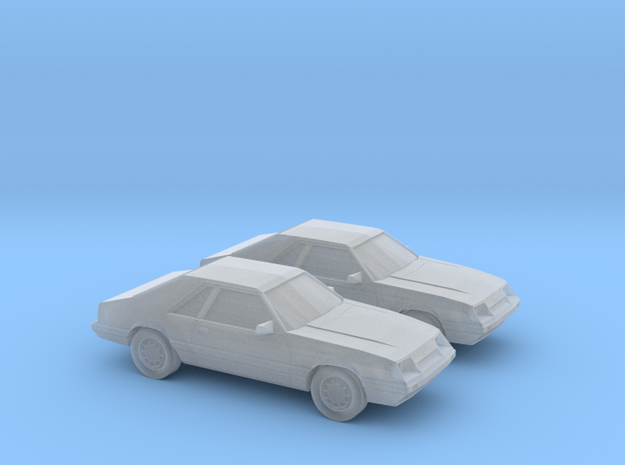 1/160 2X 1986 Ford Mustang GT