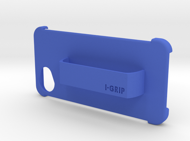 I-GRAB i-phone 6 case in Blue Strong & Flexible Polished