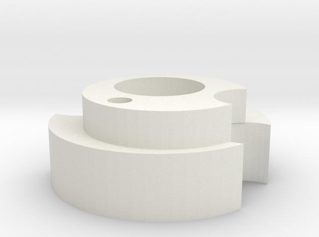Nozzle in White Natural Versatile Plastic