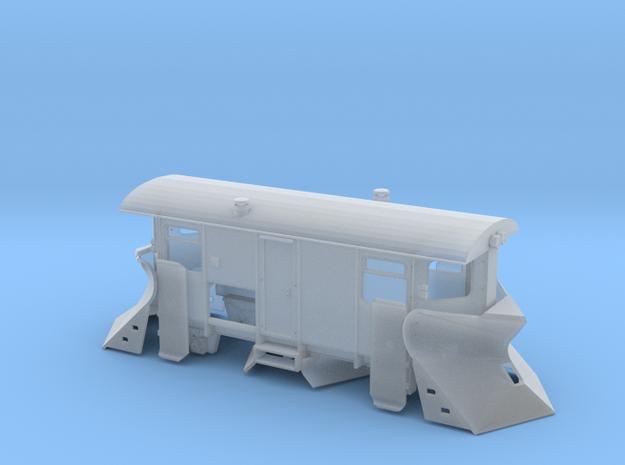 Schmalspur Schneepflug TTe (1:120) 3d printed