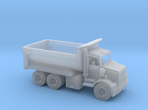 DumpTruck KW Z Scale in Smooth Fine Detail Plastic