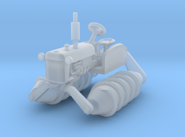 1-64 Scale Snow Tractor in Smooth Fine Detail Plastic