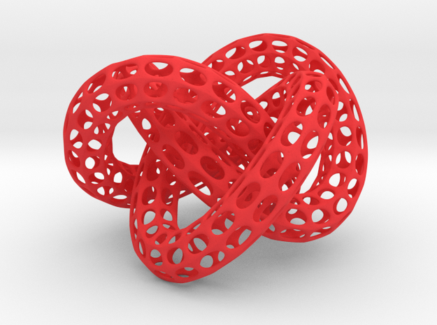 Web Desktoy w/trapped balls inside 3d printed