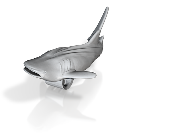 Whale Shark Pendant 3d printed 3D whale shark model by ©2012-2013 RareBreed