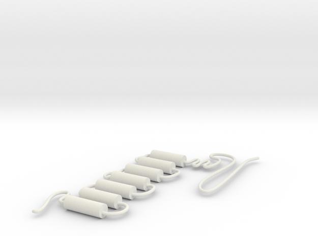 GPCR in White Natural Versatile Plastic