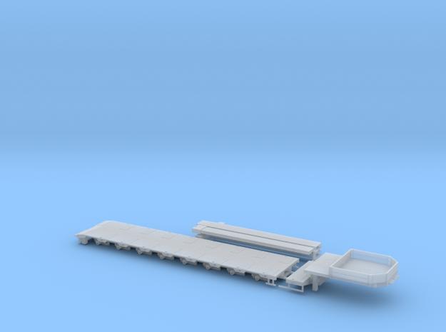 G 004-2 Tieflader ähnlich Goldhofer 8 achs V2 in Smooth Fine Detail Plastic