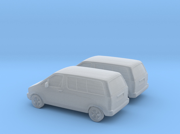 1/160 2X 1990 Ford Aerostar in Frosted Ultra Detail