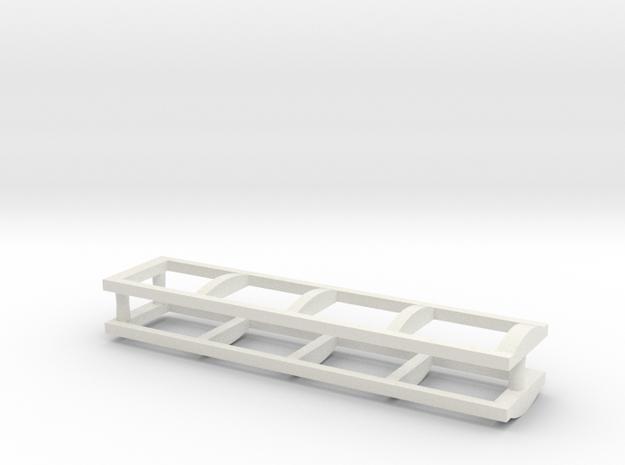 Heng Long KV 1 Air intake frames in White Natural Versatile Plastic