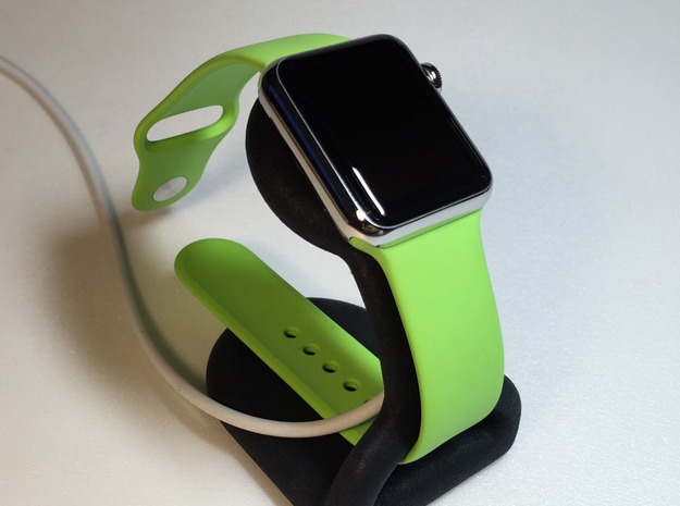 Apple Watch Charging Stand in Black Strong & Flexible