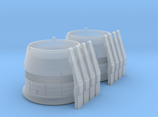 ENTERPRISE NX01 SET NACELLE CAP