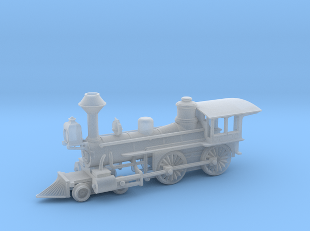 Grant 4-4-0 Locomotive - Zscale 3d printed